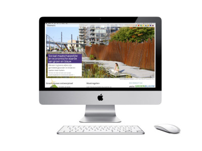 Rekentool en website voor een klimaatbestendig Eindhoven